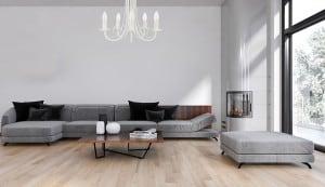 Klasická závěsná lampa do obývacího pokoje Perła 5, závěsná, bílá small 1