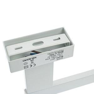 White Shine White 11 W LED nástěnná lampa IP44 small 3