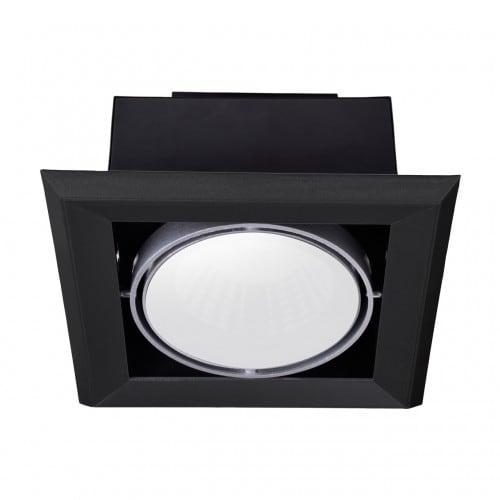 Oprawa wpuszczana Milagro BLOCCO 472 Czarny LED 7W 3000K