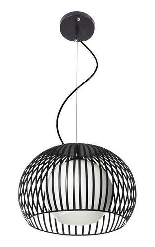 Moderní závěsná lampa Jupiter B černá