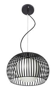 Moderní závěsná lampa Jupiter B černá small 0