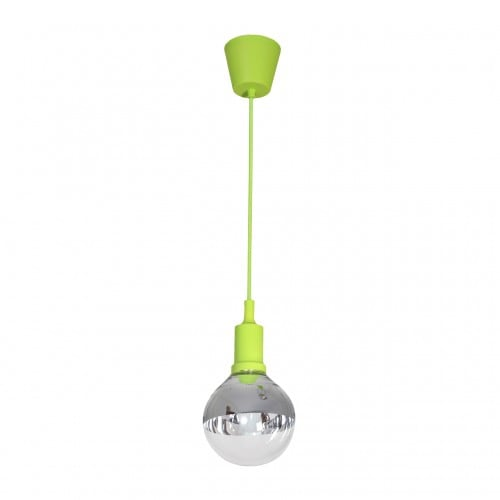 Závěsná svítilna Milagro BUBBLE LIME 458 Green 5W