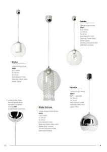 Moderní závěsná lampa Globe Pro small 6
