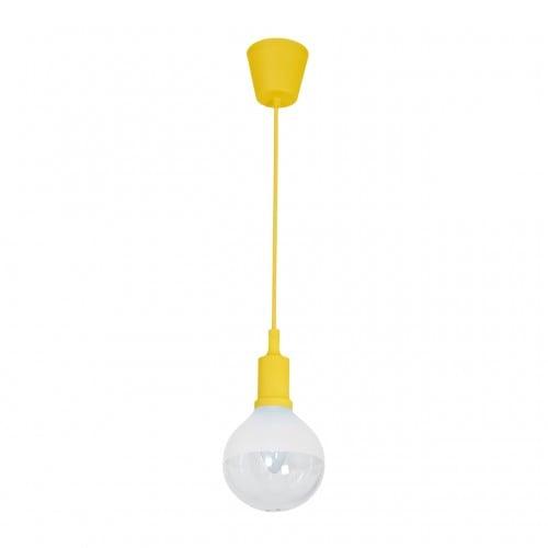 Závěsná svítilna Milagro BUBBLE YELLOW 463 Yellow 5W