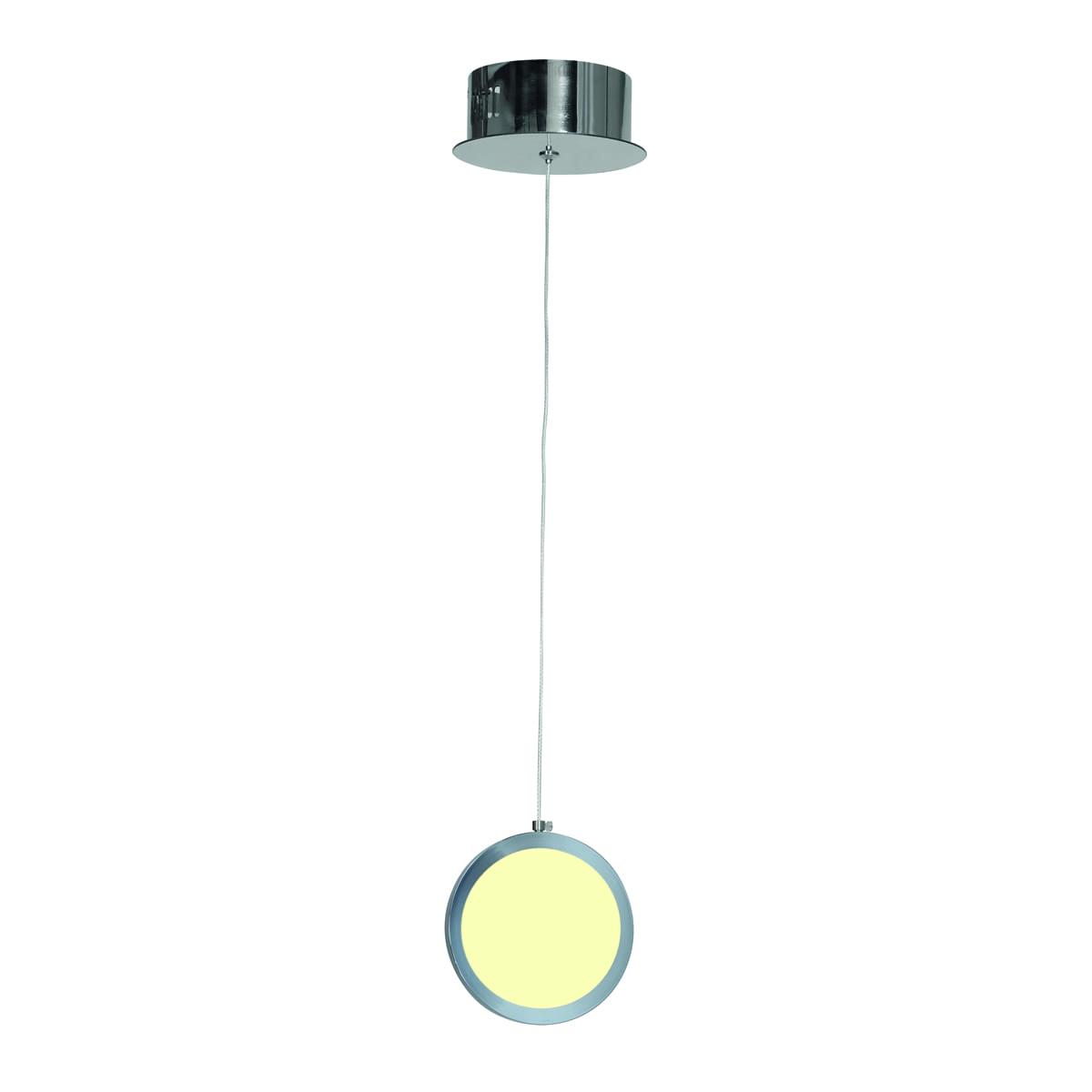 Závěsná svítilna Milagro CIRCOLO 264 Chrome 7W