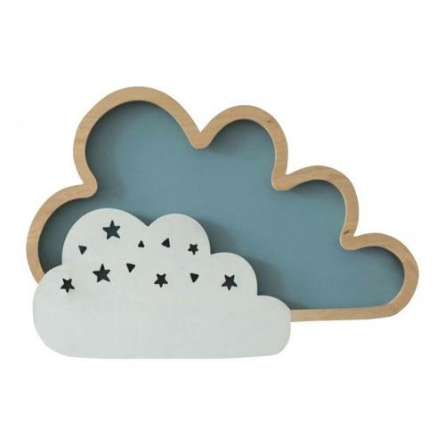 Nástěnná lampa Clouds Blue 8W
