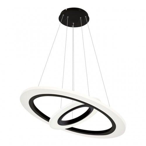 Závěsná svítilna Milagro COSMO 348 Sand black 36W