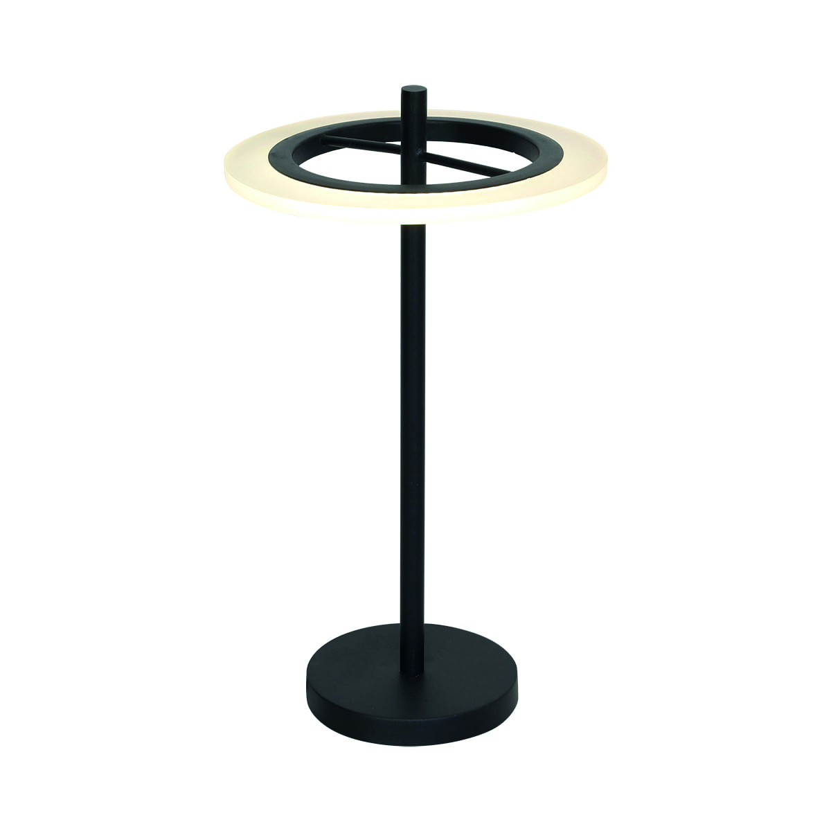 Stolní lampa Milagro COSMO 168 Sand black 12W