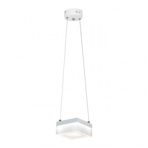 Lampa wisząca Milagro CUBO 444 Piaskowy biały 12W