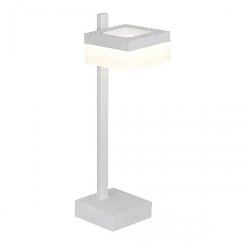 Lampa biurkowa Milagro CUBO 159 Piaskowy biały 12W