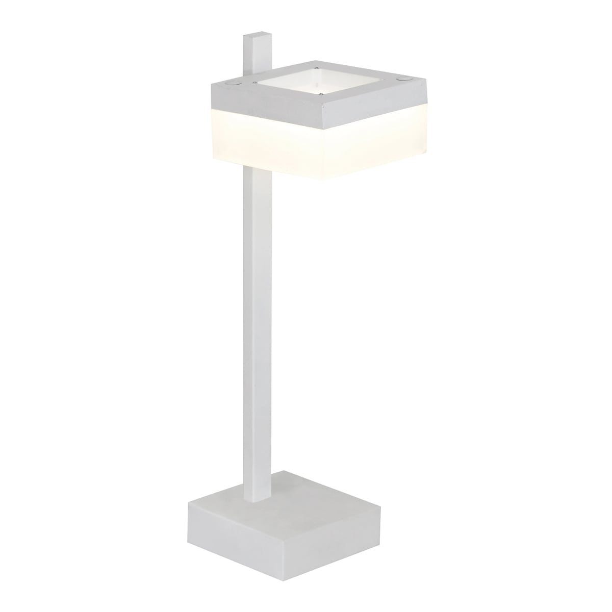 Stolní lampa Milagro CUBO 159 Sand white 12W