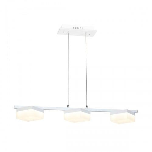 Závěsná svítilna Milagro CUBO 161 Sand white 36W