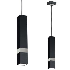 Černá závěsná lampa Vidar Black / Chrome 1x Gu10 small 0