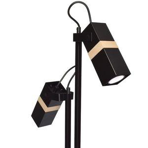 Černá stojací lampa Vidar Black 2x Gu10 small 4