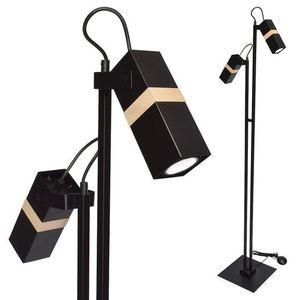 Černá stojací lampa Vidar Black 2x Gu10 small 0