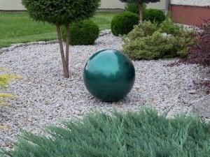 Dekorativní koule pro zahradu. Volba barev 22 cm small 13
