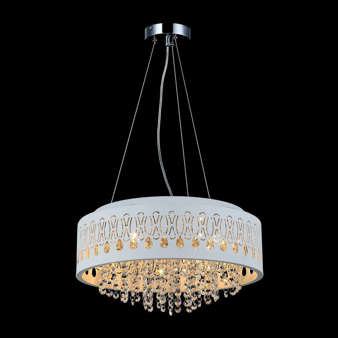 Moderní závěsná lampa Doris G9 se 4 žárovkami