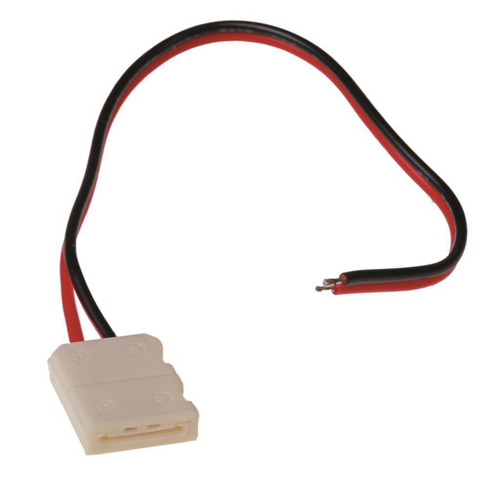 10mm Rgb LED konektor. Jednostranný styk.