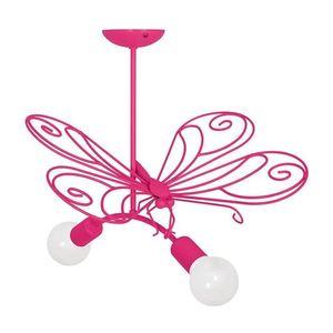 Lustr Pink Butterfly 2 Dark Pink 2x E27 small 0