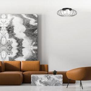 Černá stropní lampa Kronos Black 3x E14 small 1