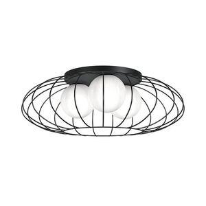 Černá stropní lampa Kronos Black 3x E14 small 0