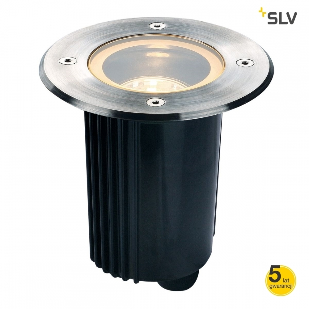 Obrysová lampa SLV DASAR 115 GU10 ROUND IP67