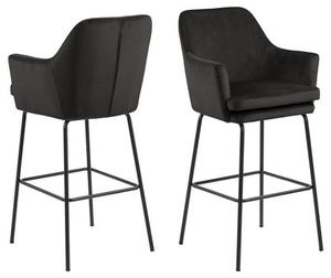 ACTONA barová židle CHISA - hnědá šedá small 1