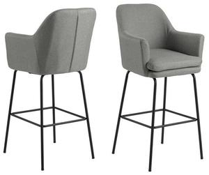ACTONA barová židle CHISA - šedá small 1