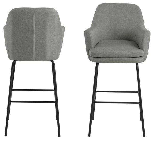 ACTONA barová židle CHISA - šedá