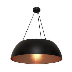 Černá závěsná lampa Morgan 3x E27 small 0
