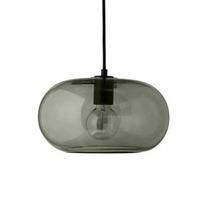 FRANDSEN závěsná lampa KOBE zelená - sklo, kov small 0