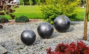 Dekorativní koule pro zahradu. Výběr barev 30 cm small 11