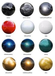 Dekorativní koule pro zahradu. Výběr barev 30 cm small 14