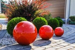 Dekorativní zahradní kulička Color Choice 50 cm small 2