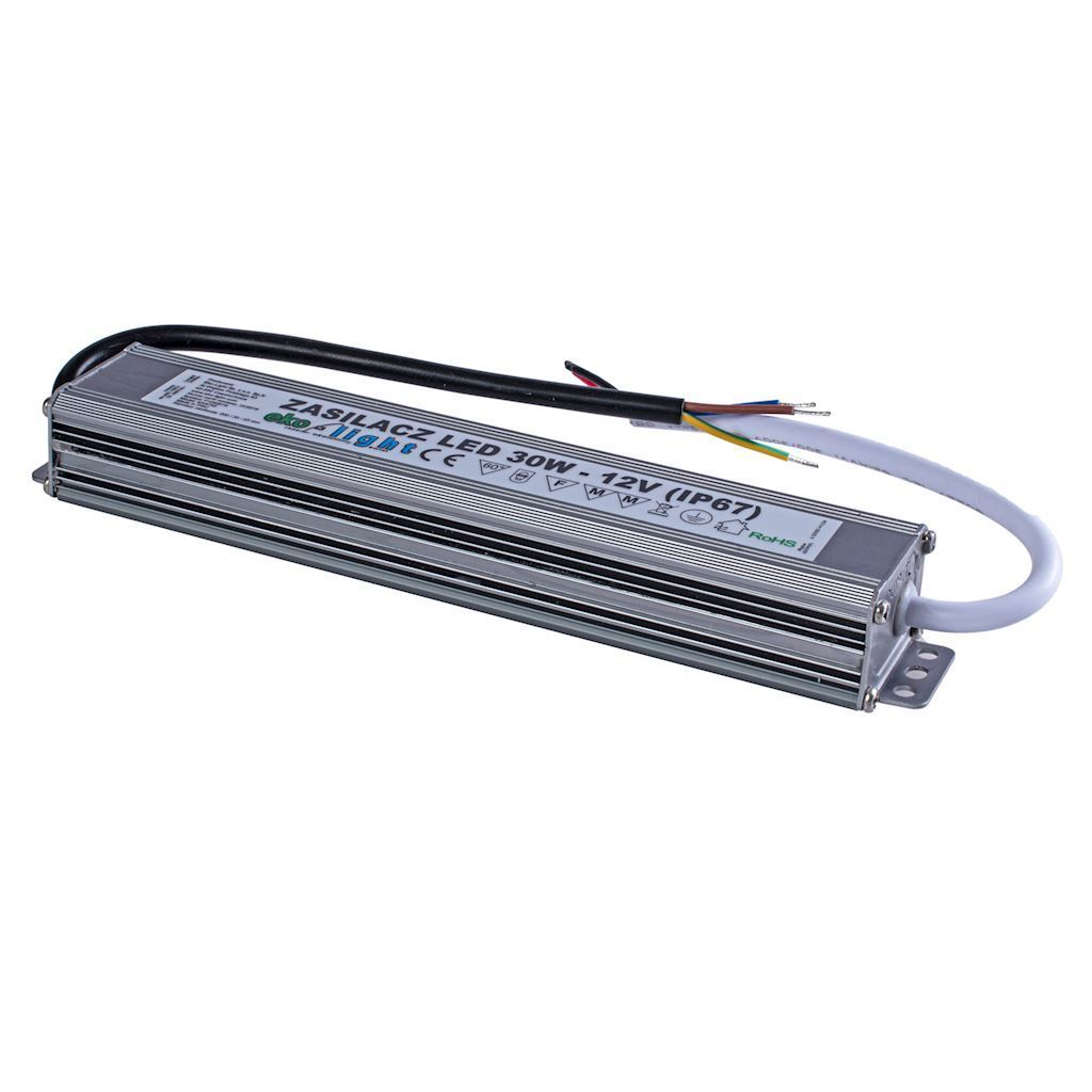LED napájecí zdroj 30W Ip67 IP67