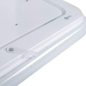 Bílé stmívatelné stropní svítidlo LED Palermo 40 W LED + dálkové ovládání small 4