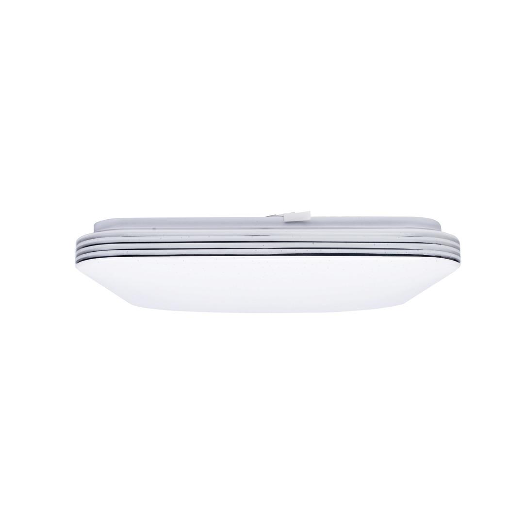 Bílé stmívatelné stropní svítidlo LED Palermo 40 W LED + dálkové ovládání