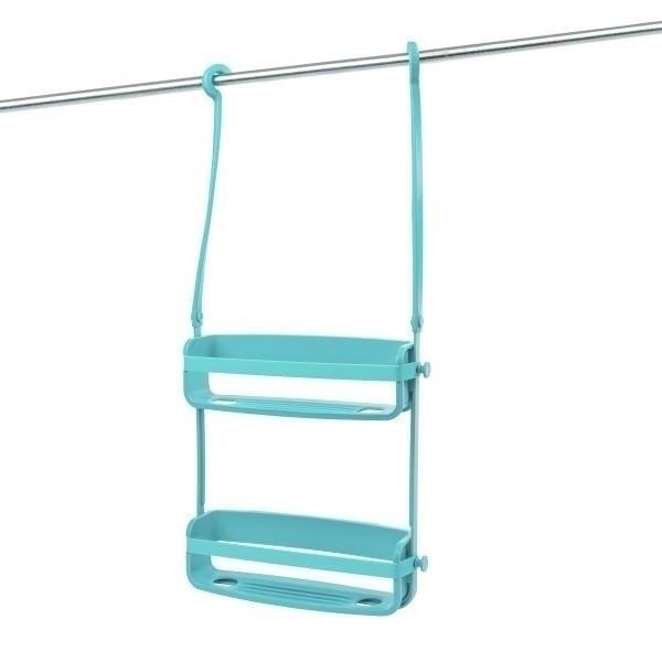UMBRA FLEX koupelnový organizér - tyrkysová SHOWER CADDY