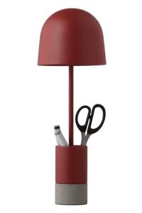 FRANDSEN stolní lampa PEN vínová small 0