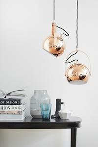 Závěsná lampa FRANDSEN BALL L měď small 1
