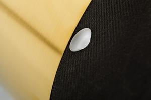 Pytlík INVICTA BAROCK VELVET WIDE černý - zlatý základ small 2