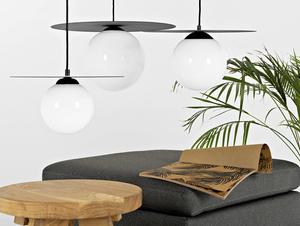 Závěsná lampa SKIVA BALL L - černá small 1