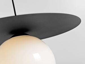 Závěsná lampa SKIVA BALL L - černá small 4