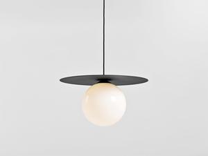 Závěsná lampa SKIVA BALL L - černá small 0