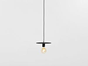 Závěsná lampa SKIVA M - černá small 3