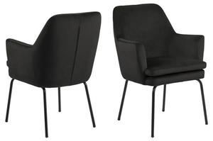 Židle ACTONA CHISA - šedohnědá small 0