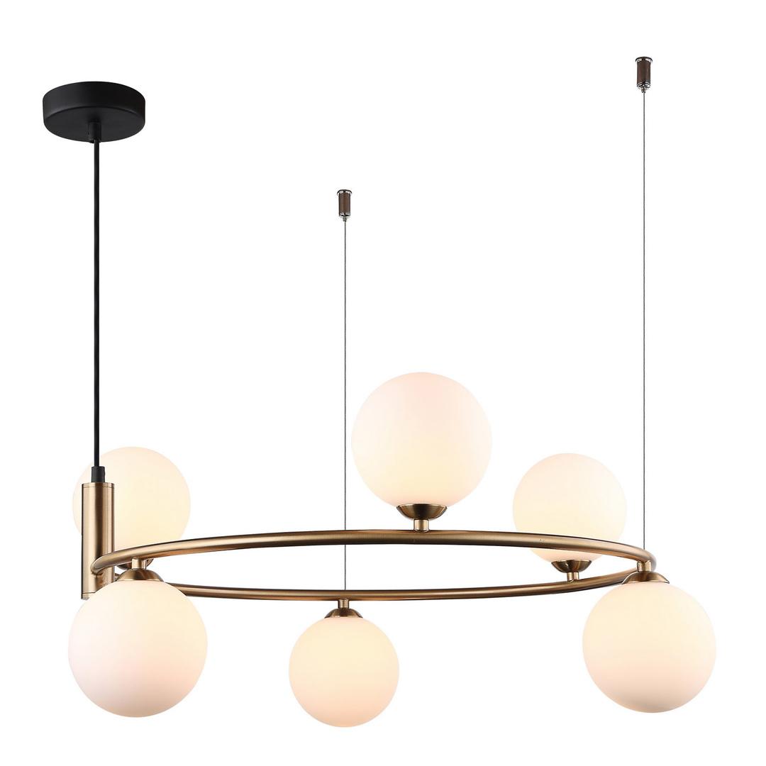 Moderní závěsná lampa 6 žárovka Amily G9