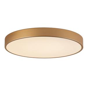 Zlatá moderní orbitální LED stropní lampa small 3