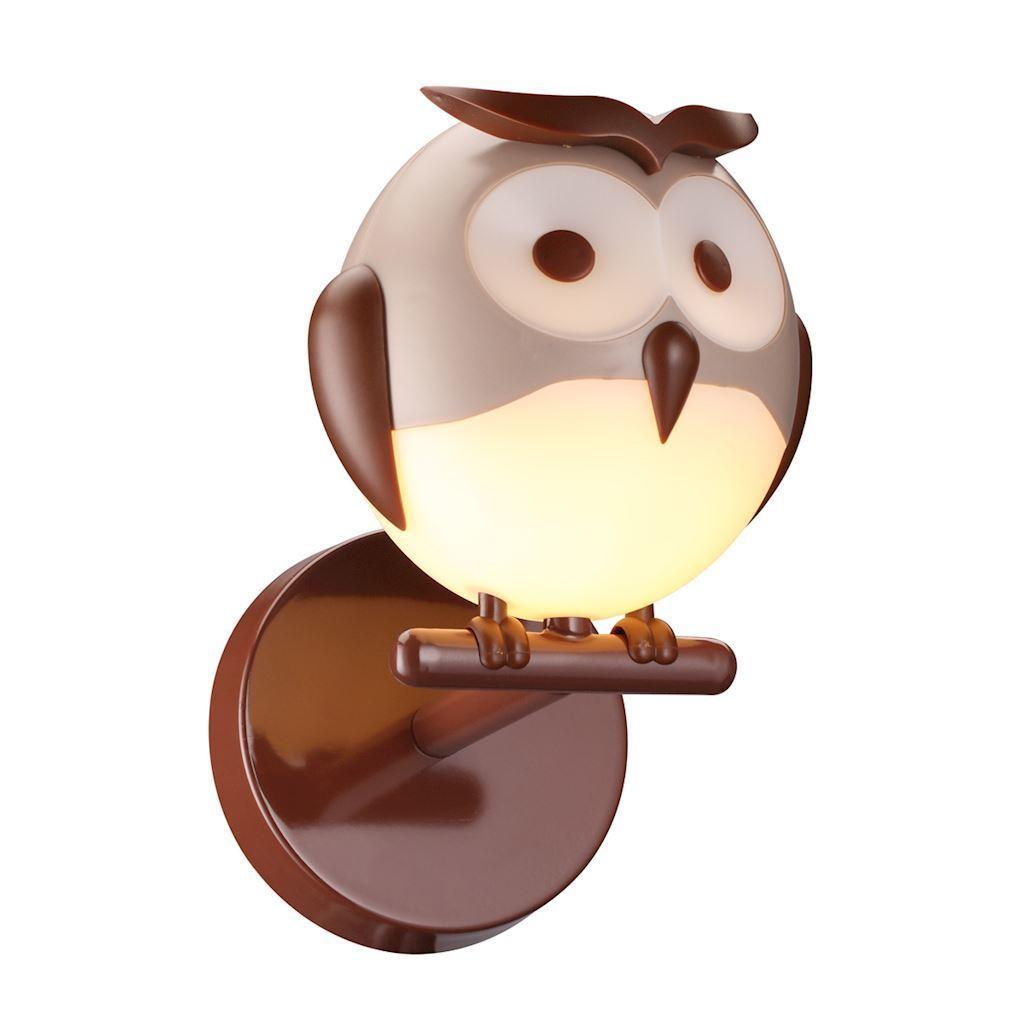 Nástěnná lampa Owl 1 Xg9 Led