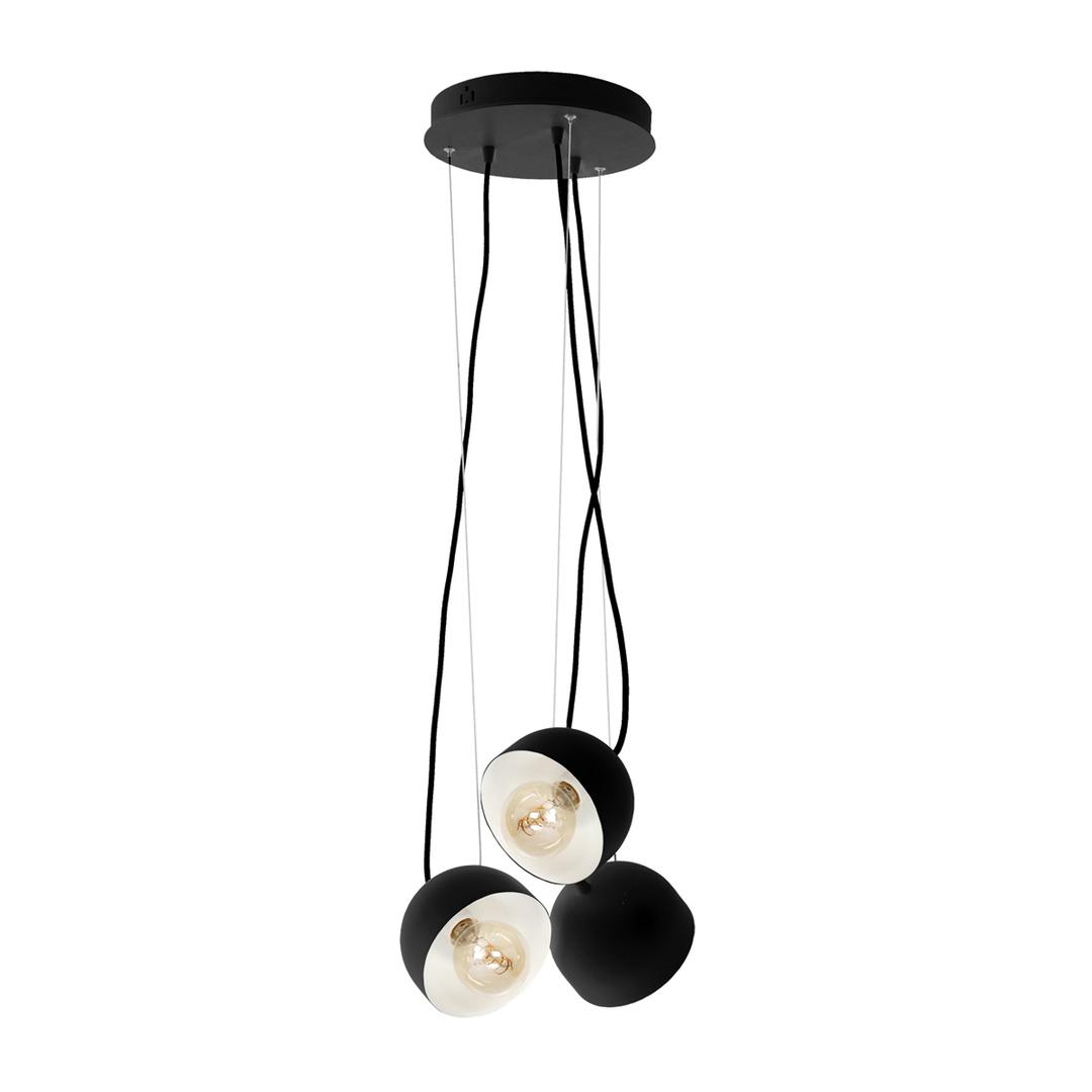 Závěsná lampa Ron 3x E27